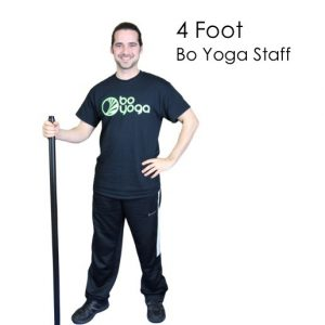 Bo Yoga Staff 4 Foot Energy Balance Mindfulness