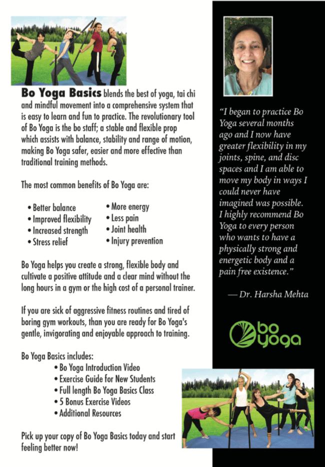 Bo Yoga Basics DVD or Online Course