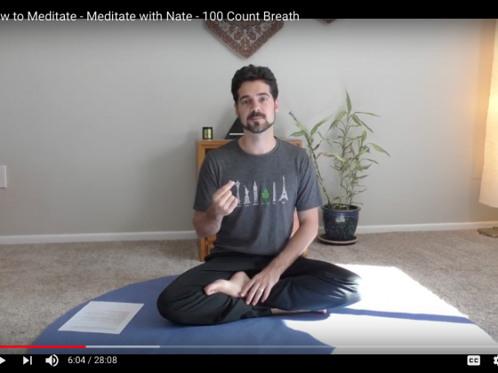 Meditate with Nate - How to meditate