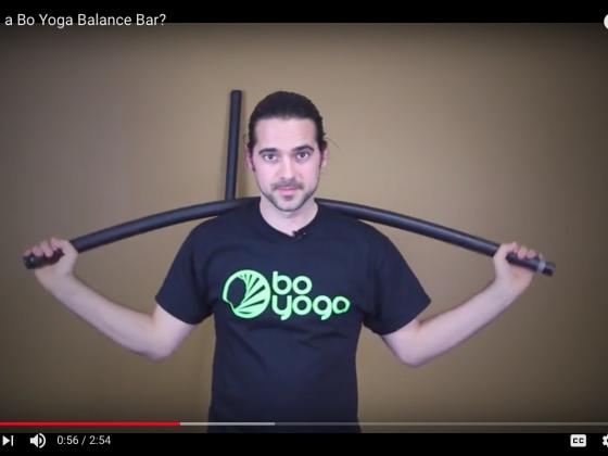 What is a Bo Yoga Balance Bar?