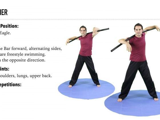 Bo Yoga Swimmer Warm Up